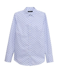 Riley Tailored-Fit Clip-Dot Shirt