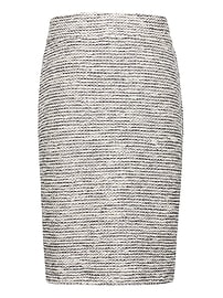 Bouclé Knit Pencil Skirt