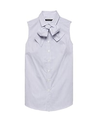Riley Tailored-Fit Sleeveless Super-Stretch Shirt