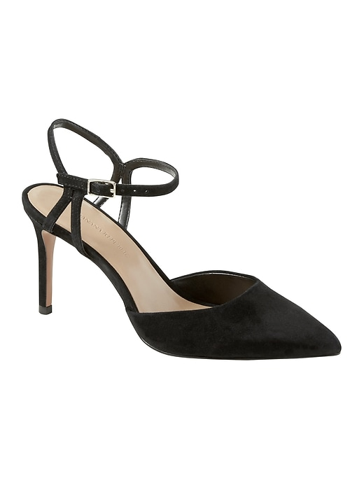 madison-12-hour-side-cut-out-pump by banana-repbulic