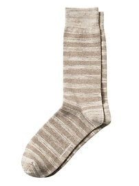 Spacedye Stripe Sock