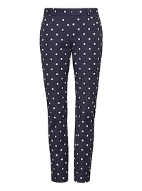 Sloan Skinny-Fit Dot Pant