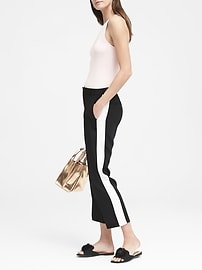 Avery Straight-Fit Easy Care Tuxedo Stripe Pant