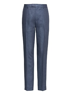 Heritage Athletic Tapered Linen Pinstripe Pant
