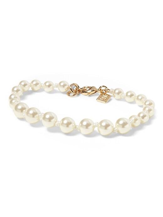 Pearl Strand Bracelet by Banana Repbulic