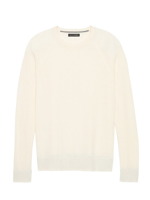 Br X Kevin Love | Washable Wool Cashmere Sweater by Banana Repbulic