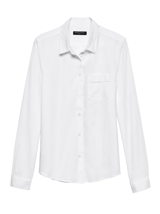 Quinn Fit Oxford Shirt by Banana Repbulic
