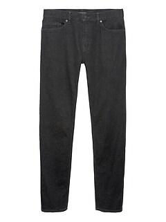 Athletic Tapered Rapid Movement Denim Black Jean