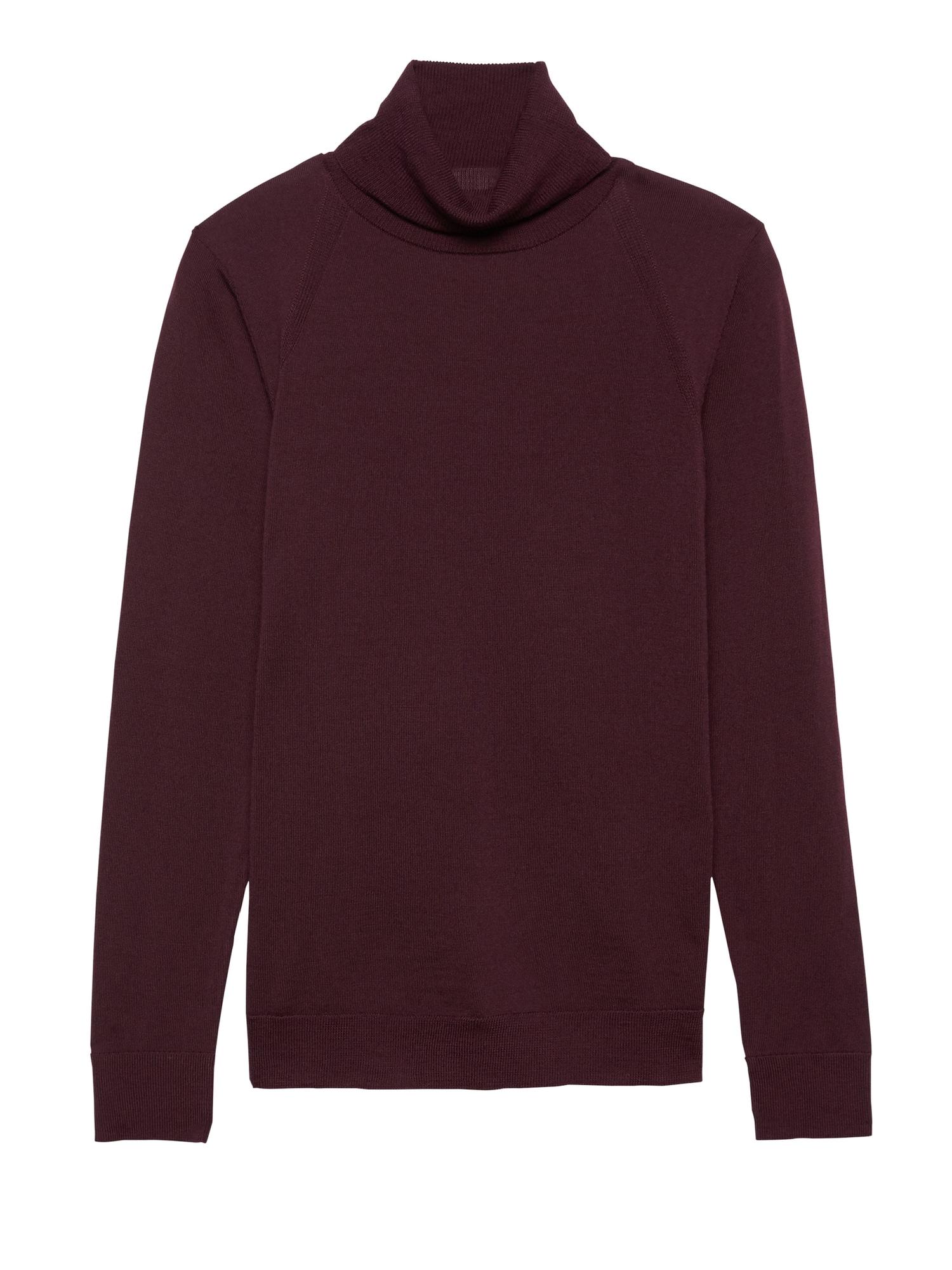 e15bf3560 Washable Merino Turtleneck Sweater