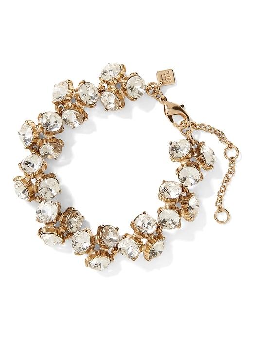 Sparkle Cluster Bracelet by Banana Repbulic