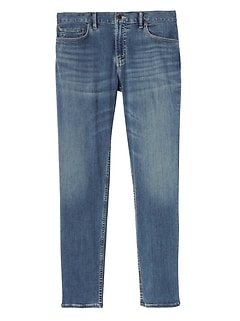 Athletic Tapered Rapid Movement Denim Light Wash Jean