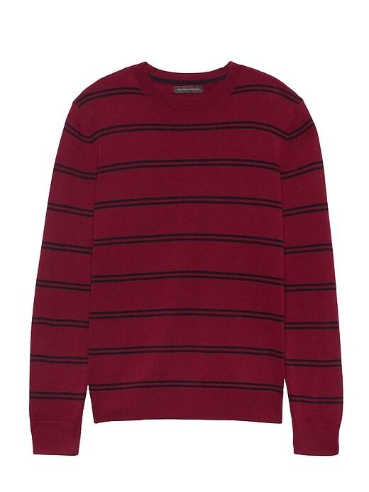 Italian Merino Stripe Sweater by Banana Repbulic