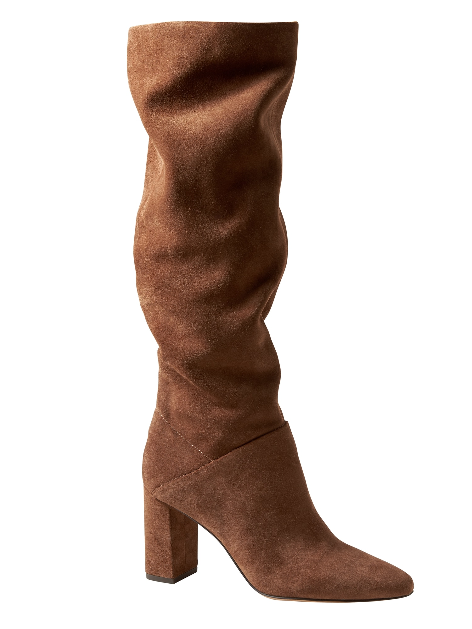 e62fd2dbf065 Suede Tall Slouchy Boot