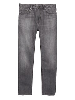 Heritage Athletic Tapered Gray Rigid Jean