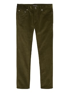 Slim Traveler Corduroy Pant