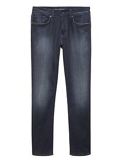 Slim LUXE Traveler Medium Wash Jean
