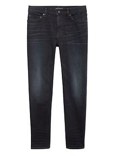 Athletic Tapered Rapid Movement Denim Dark Wash Jean
