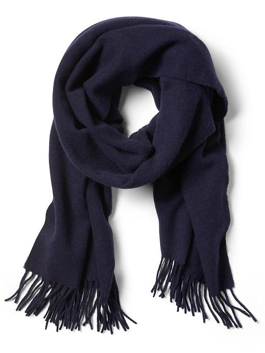 heathered-wool-scarf by banana-repbulic