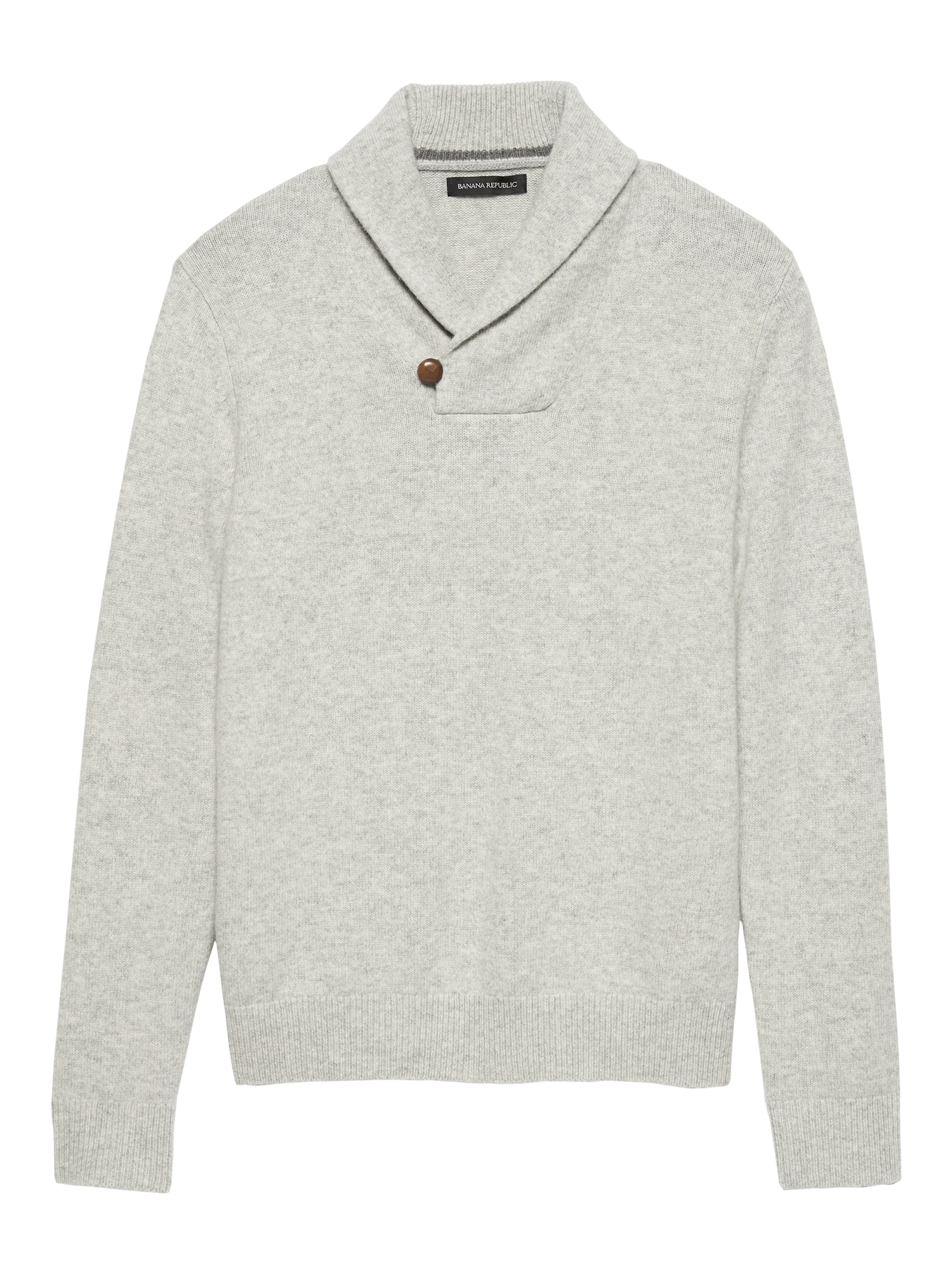Italian Merino Shawl Collar Sweater Banana Republic