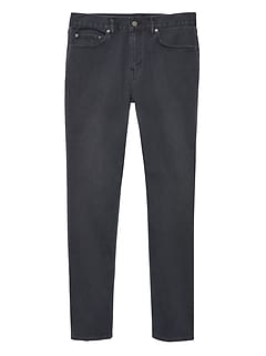 Athletic Tapered Rapid Movement Denim Gray Wash Jean