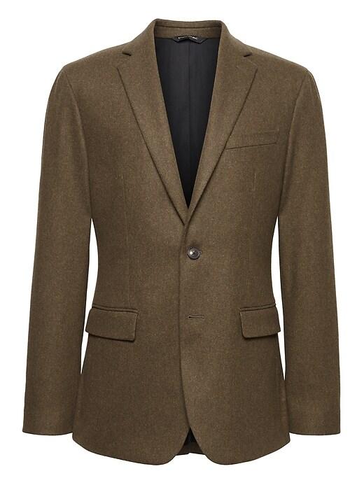 Heritage Slim Italian Wool Blend Blazer by Banana Repbulic