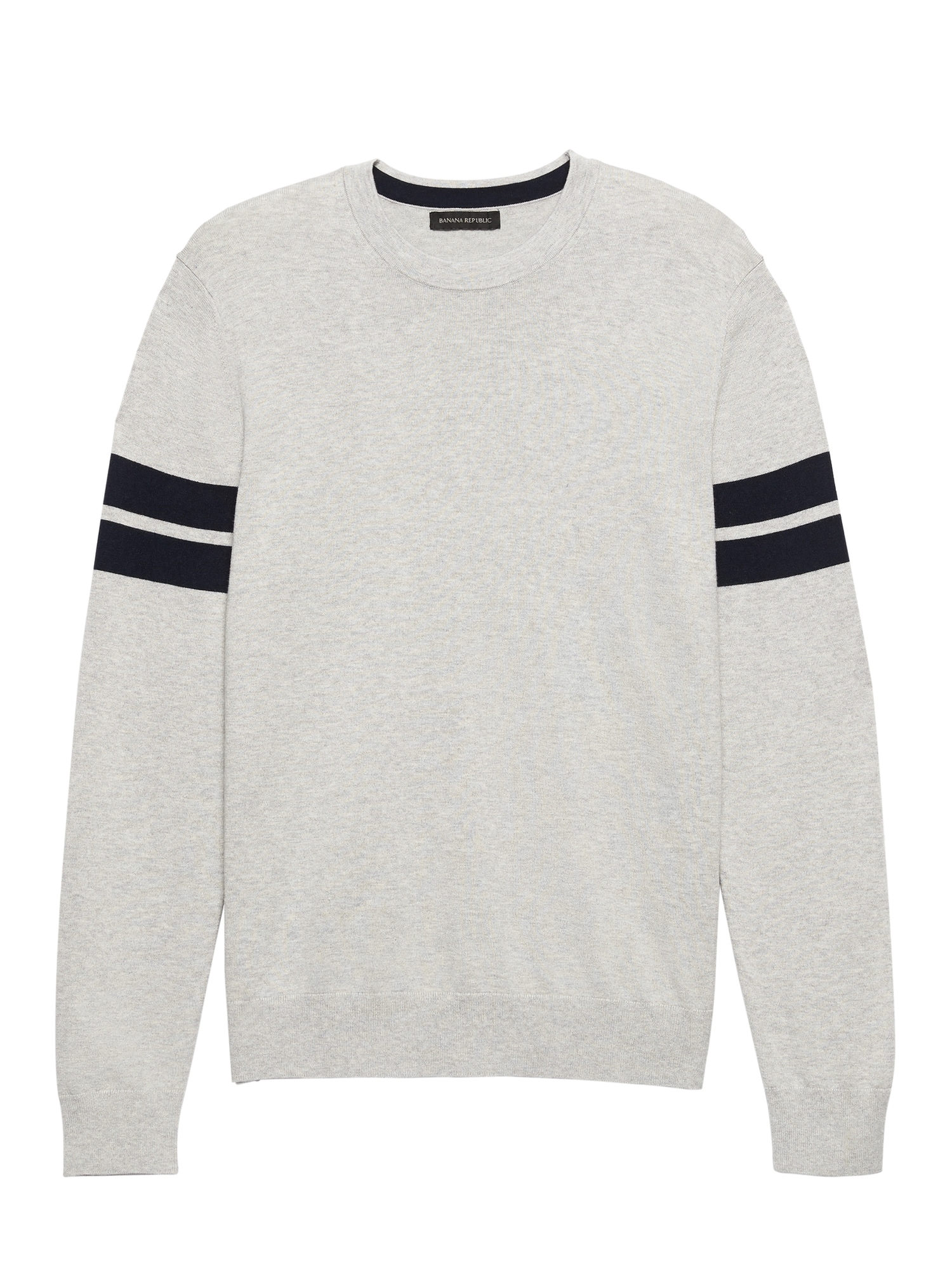 a1e239815323df Silk Cotton Cashmere Varsity Sweater
