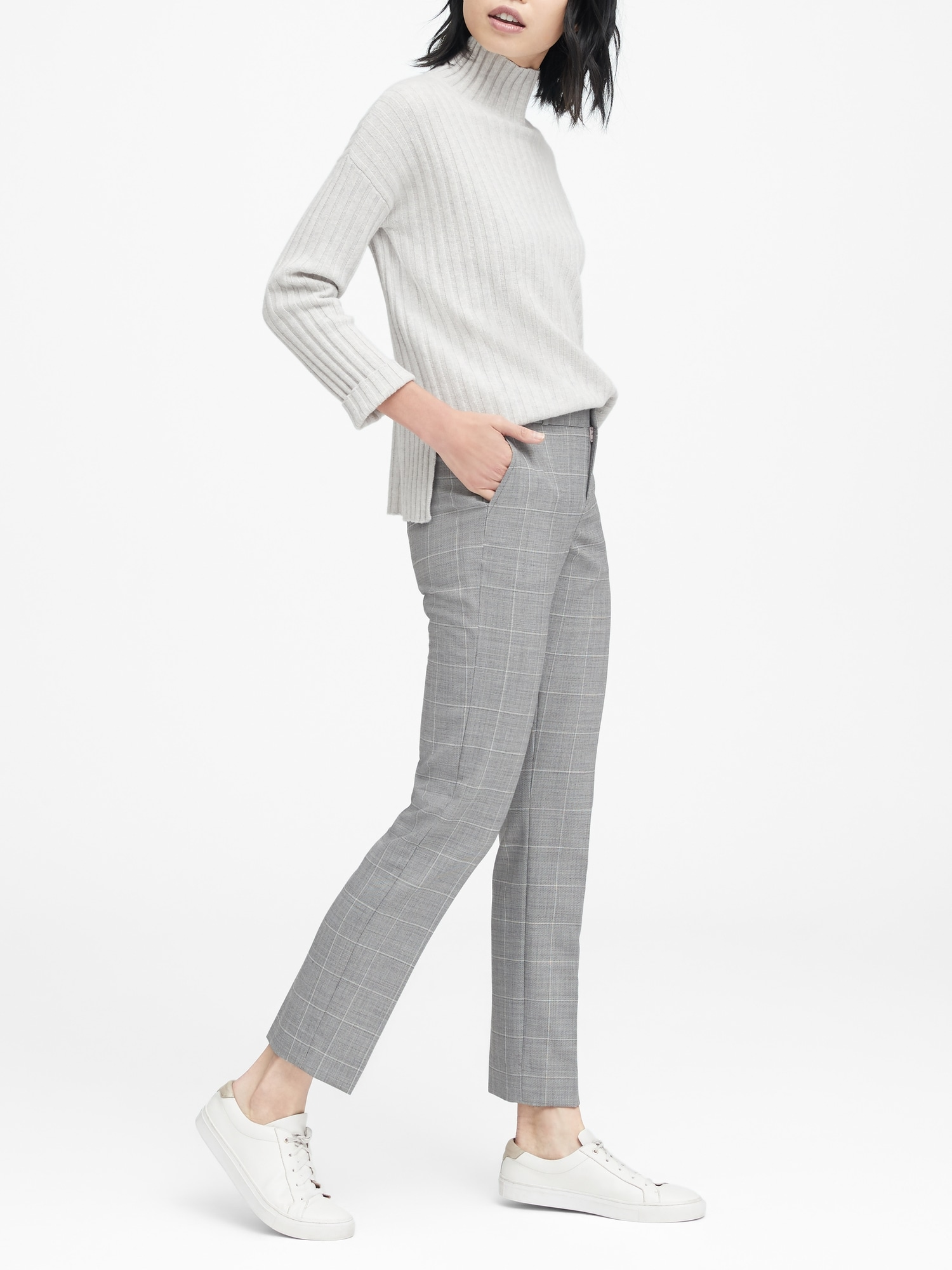 67d5739e44c2ce Ryan Slim Straight-Fit Washable-Wool Blend Pant | Banana Republic