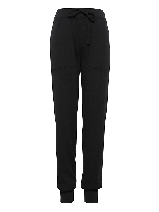 Cashmere Side Stripe Jogger Pant by Banana Repbulic