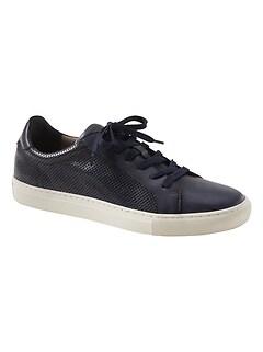 Nicklas Perforated Leather Sneaker