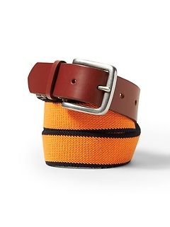 Stretch-Web Buckle Belt