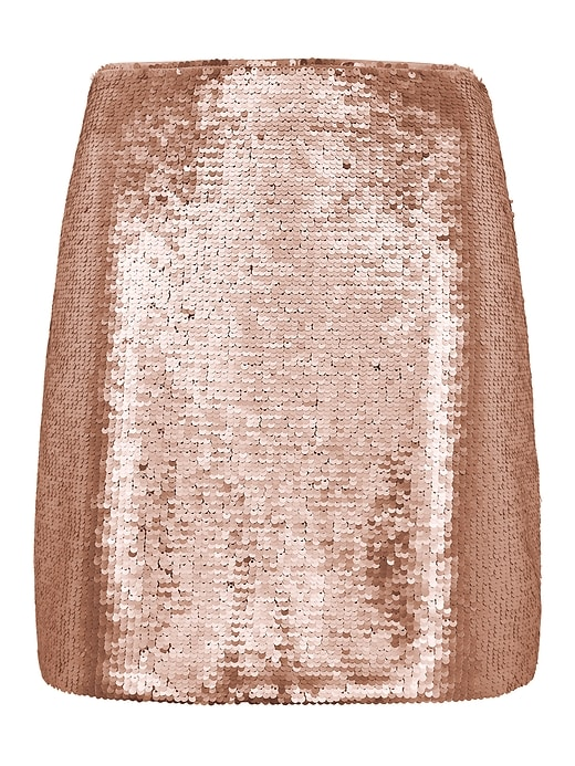 Sequin Mini Skirt by Banana Repbulic