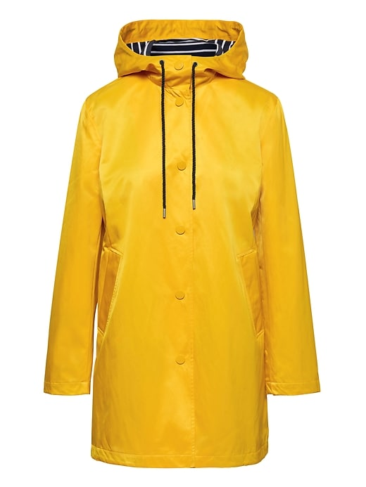 Water Resistant Raincoat by Banana Repbulic
