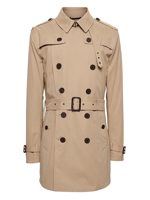 Water Resistant Trench Coat by Banana Repbulic