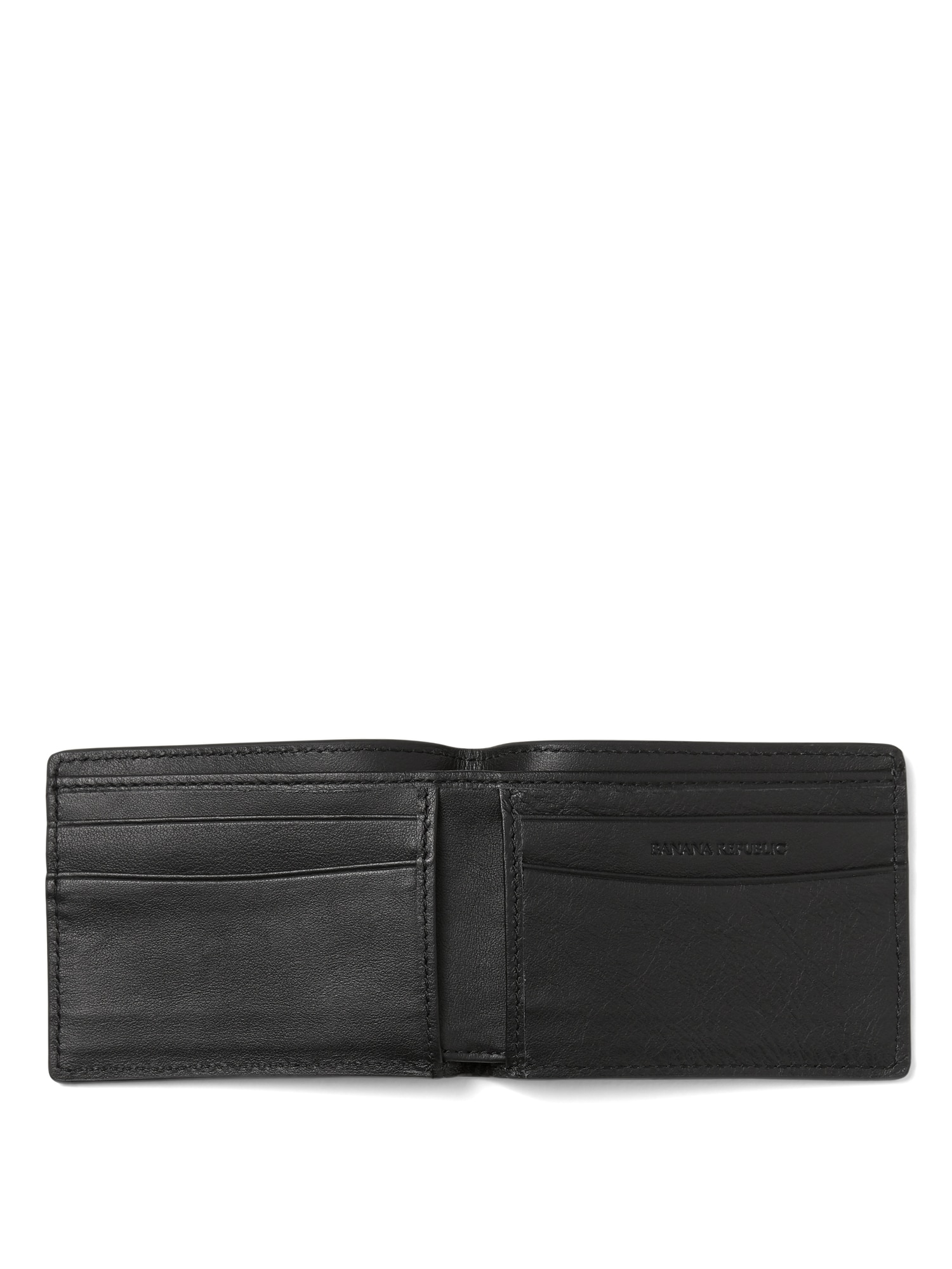 84b3d48d Leather Billfold Wallet | Banana Republic