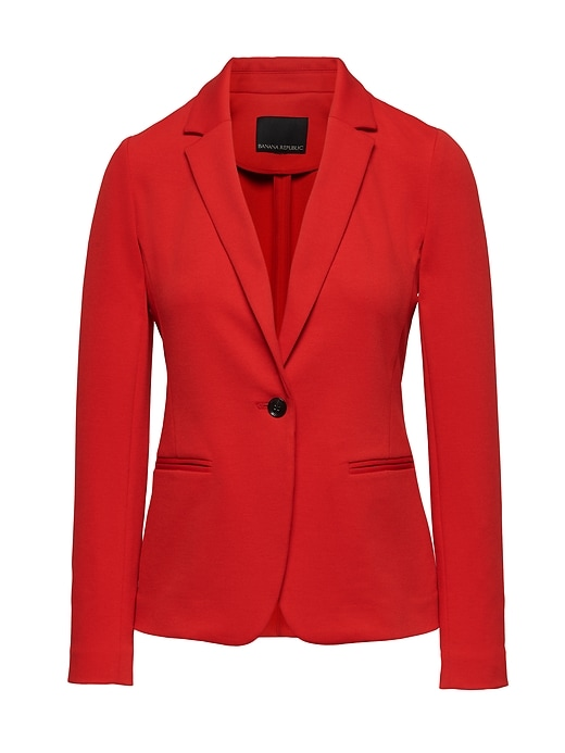 Unstructured Knit Blazer by Banana Repbulic