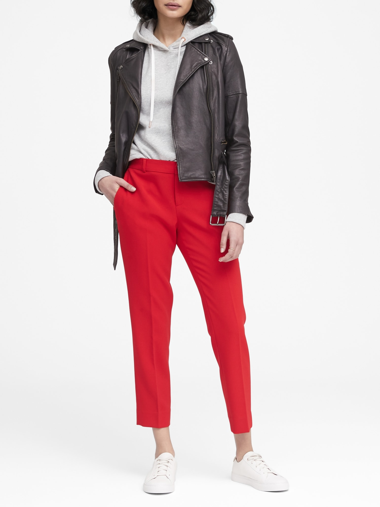 edb6b5d2df8a8 Avery Straight-Fit Stretch Ankle Pant