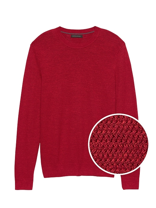 Supima® Cotton Crew Neck Sweater by Banana Repbulic