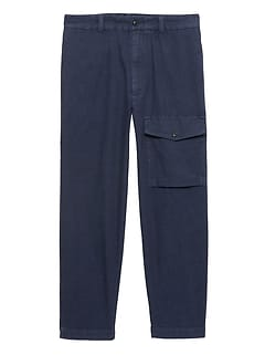 Heritage Athletic Tapered Chambray Cargo Pant