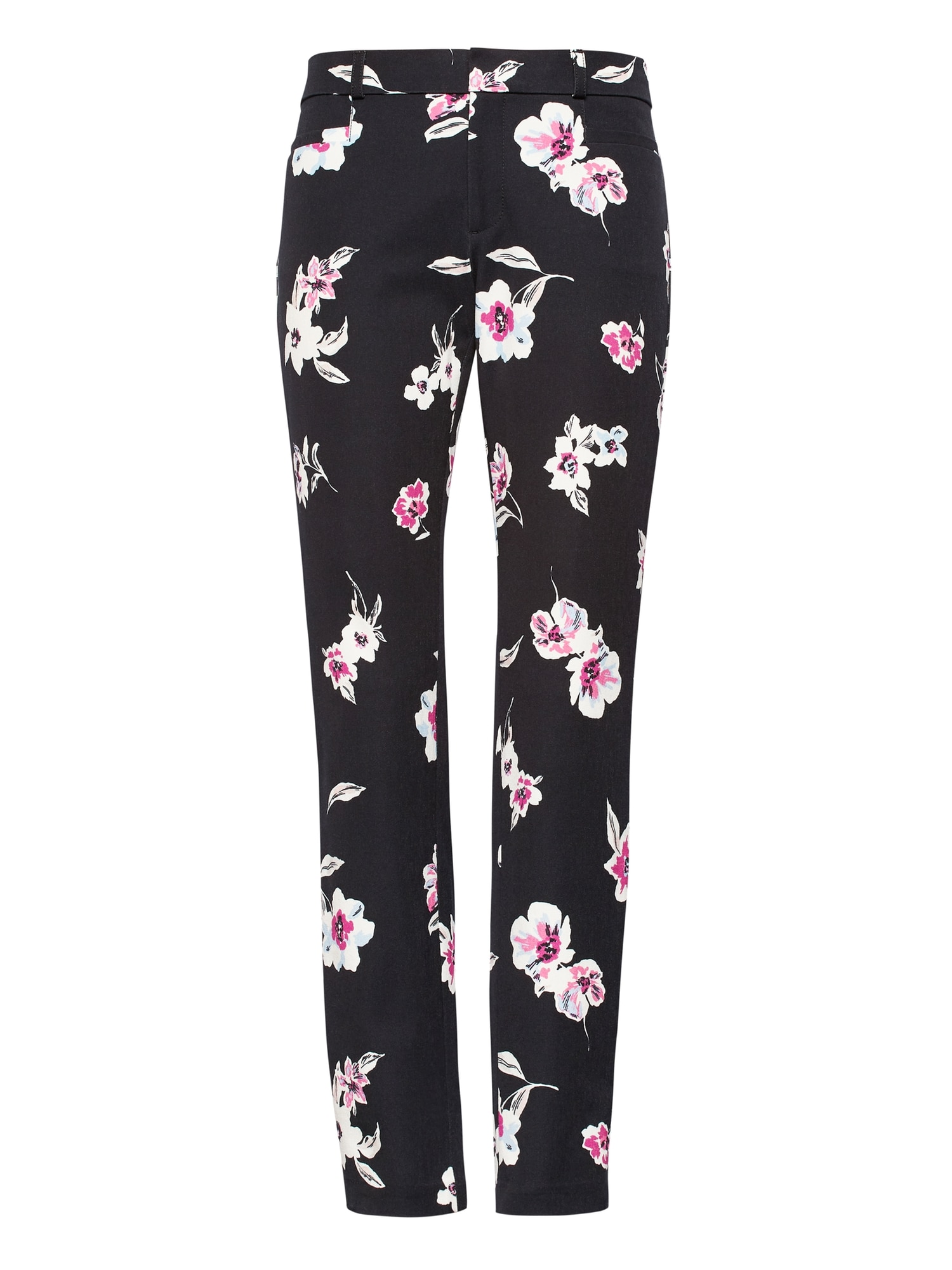 7f707862c6605e Sloan Skinny-Fit Floral Ankle Pant | Banana Republic