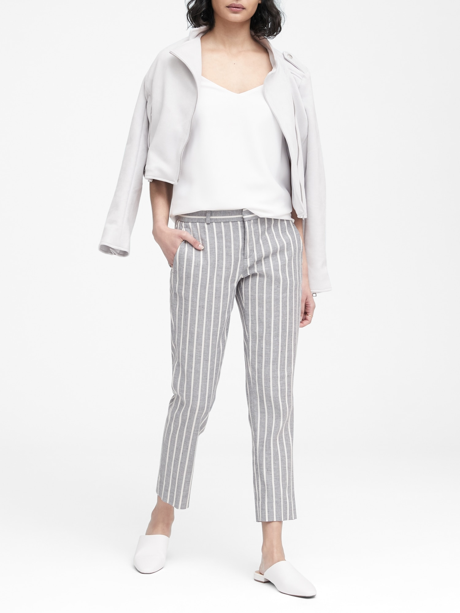 920b6bb0dfb Avery Straight-Fit Linen-Cotton Pant