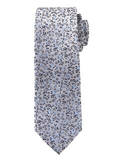 Vintage Floral Silk Nanotex® Tie