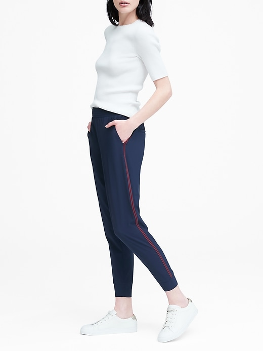 Performance Stretch Jogger Pant by Banana Repbulic