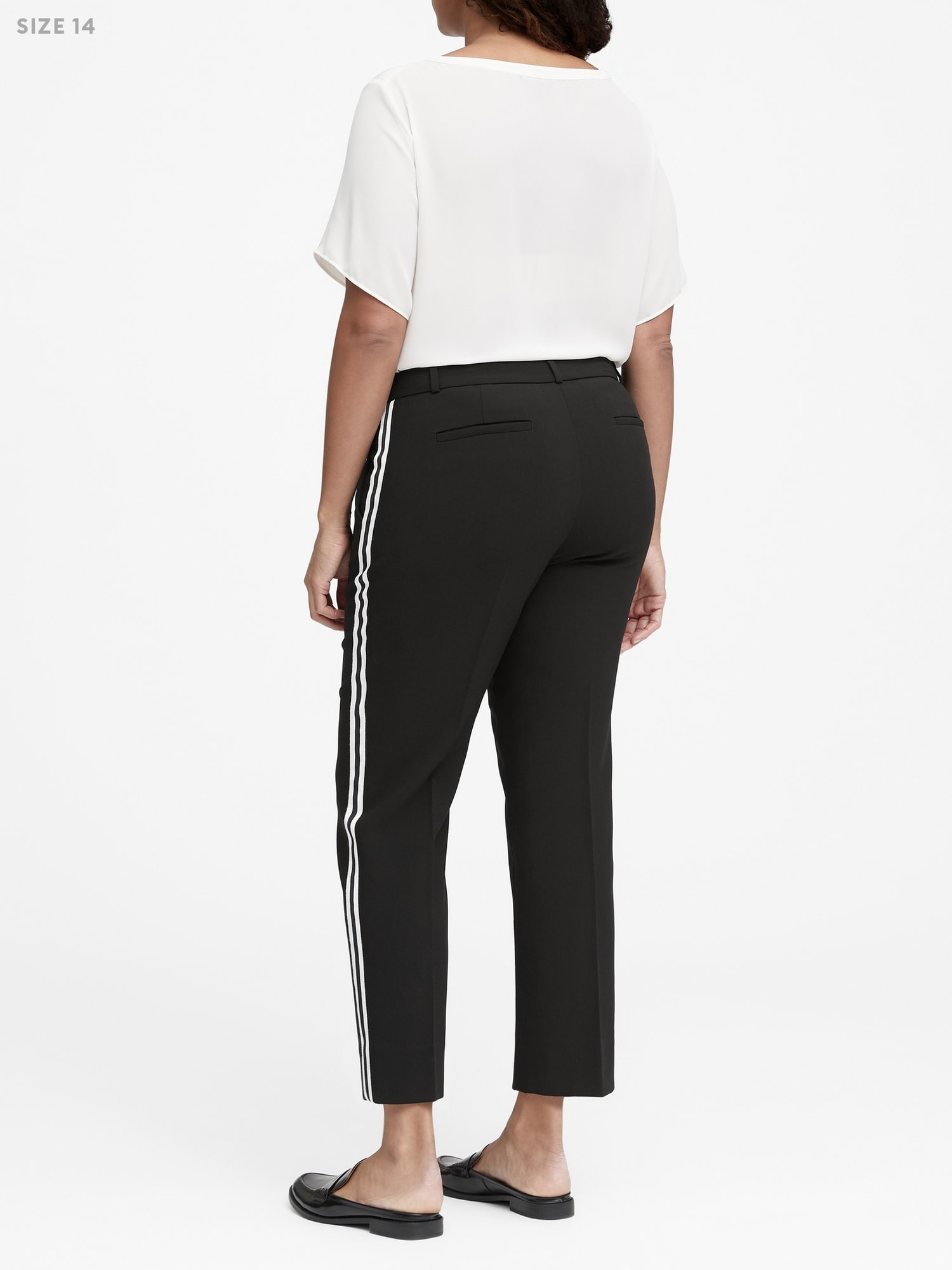 fdf69f4c44eac Avery Straight-Fit Tuxedo Ankle Pant