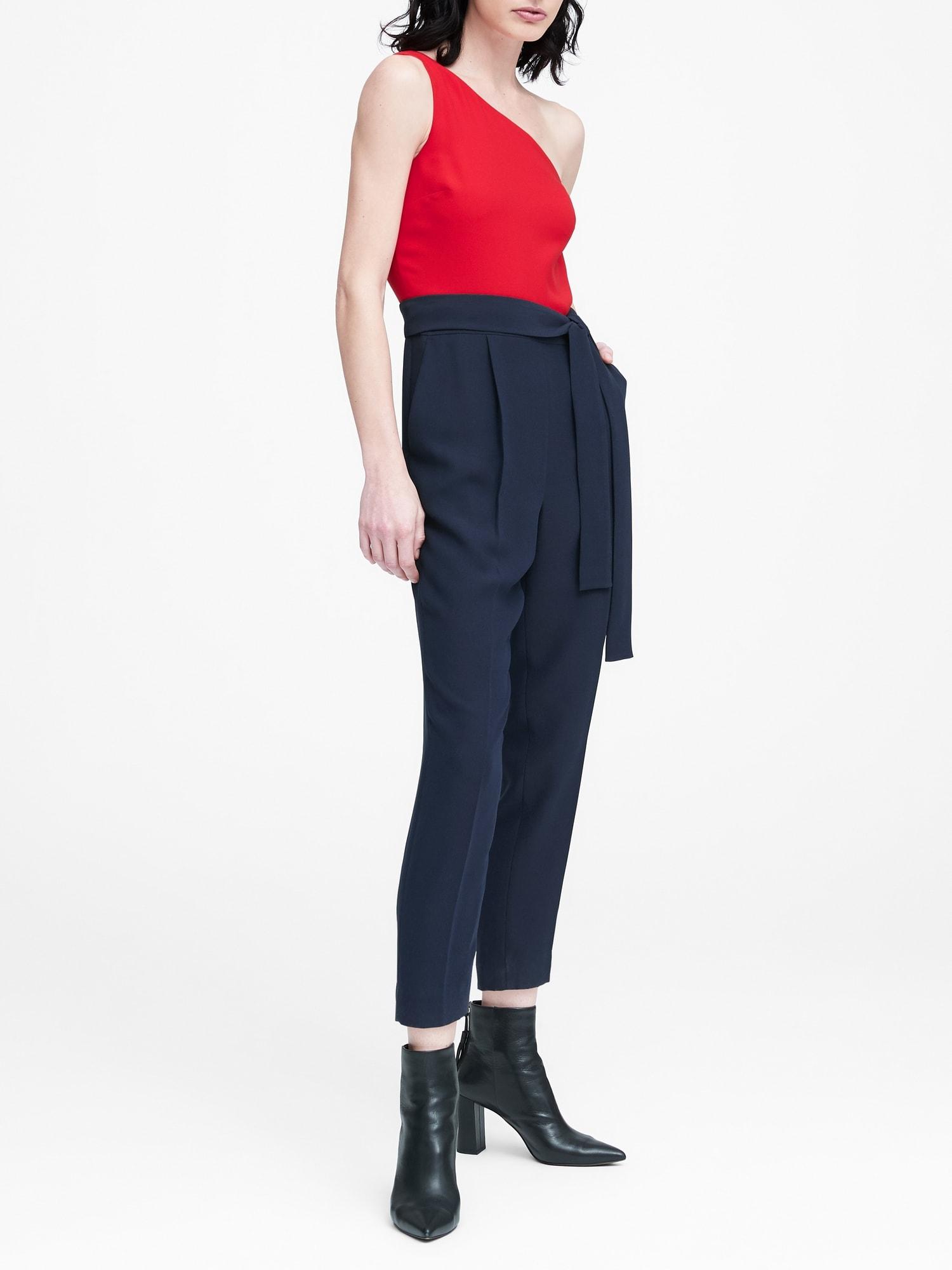 feeee0691f72 One-Shoulder Jumpsuit