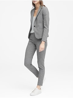Classic-Fit Textured Blazer