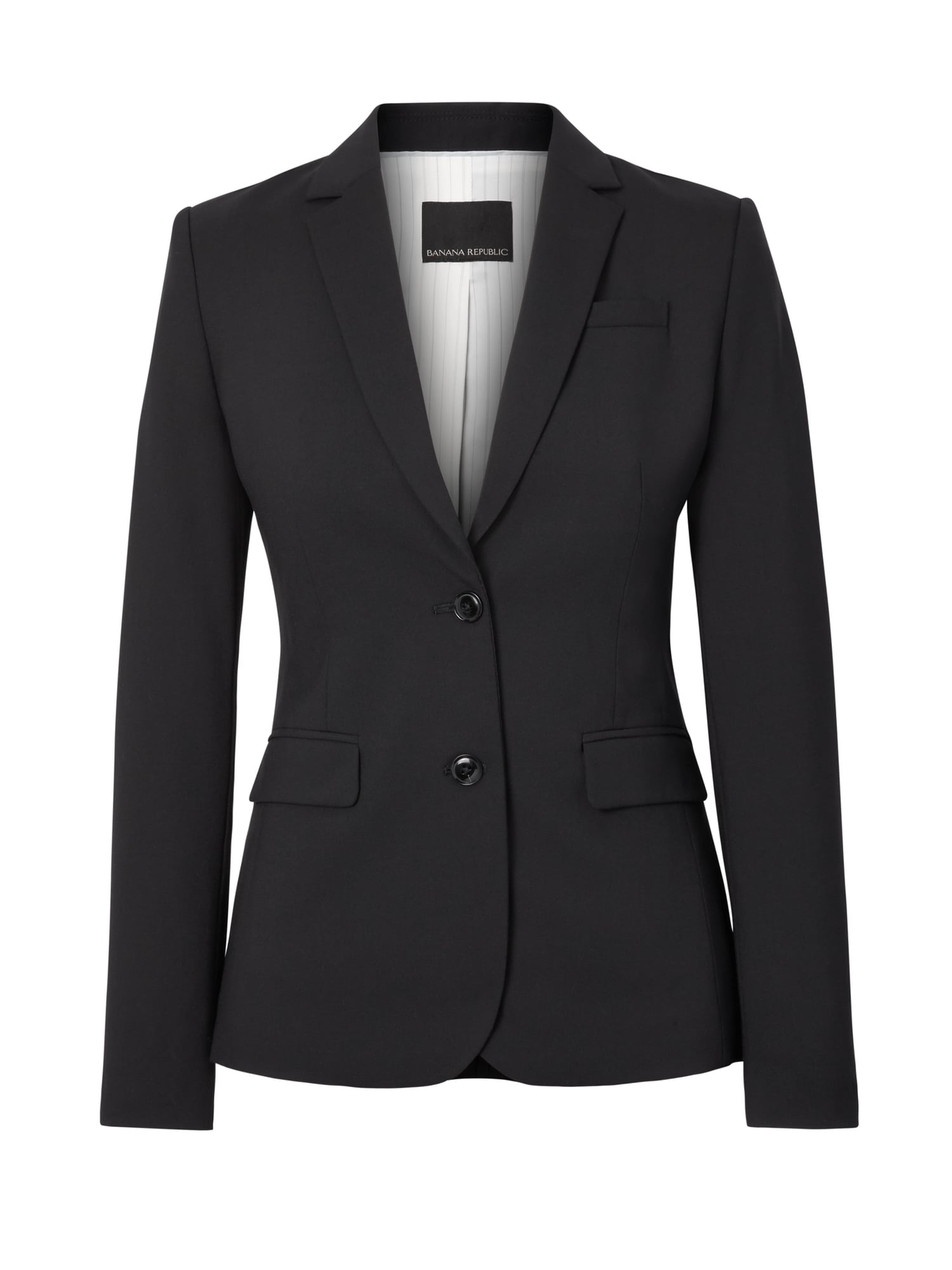 8805387804 Long and Lean-Fit Lightweight Wool Blazer