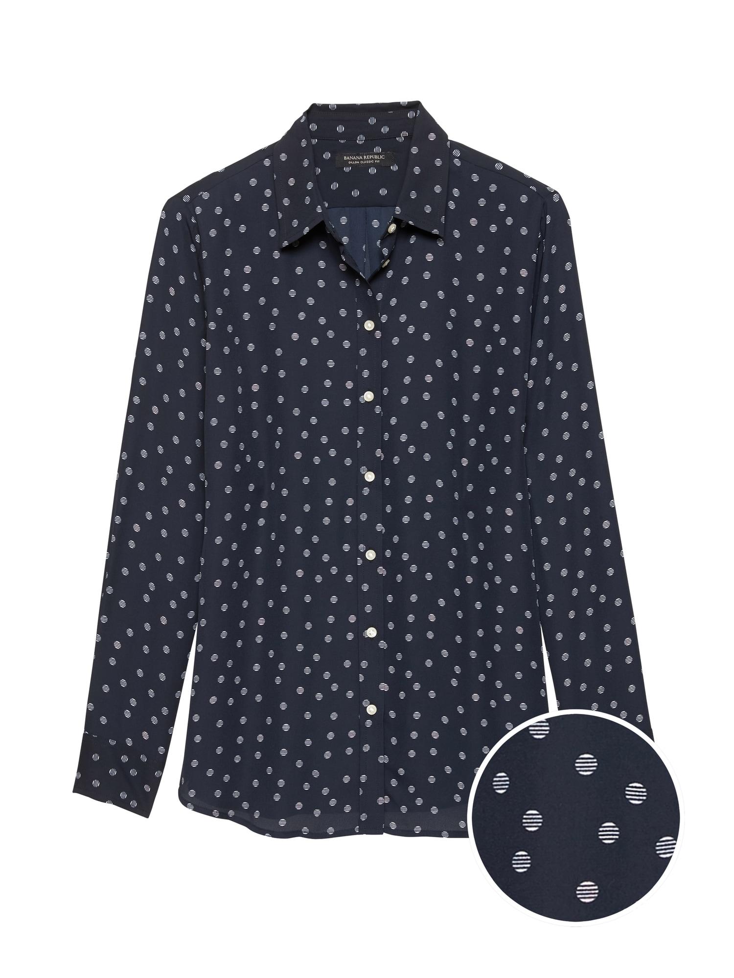 7f95d61f188 Dillon Classic-Fit Polka Dot Shirt