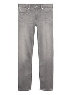 Straight Rapid Movement Denim Jean