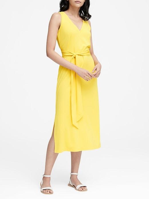 Soft Ponte Tank Dress by Banana Repbulic