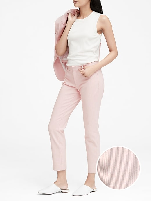 Sloan Skinny Fit Stripe Pant by Banana Repbulic